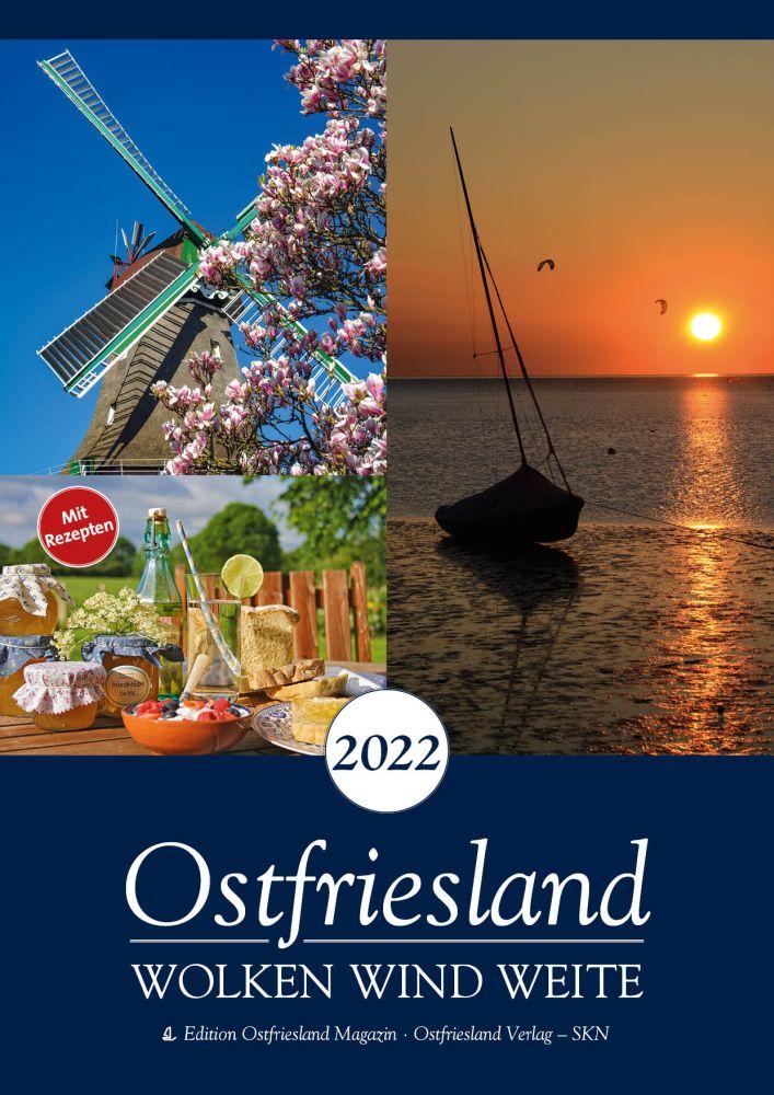 2022 Kalender Wolken Wind und Weite